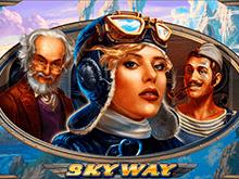 Игровой автомат Sky Way от казино Вулкан 24 в бесплатной версии